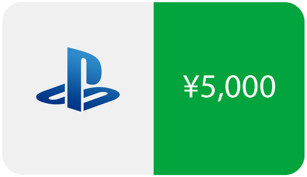 Japanese PSN Card 5000 Yen