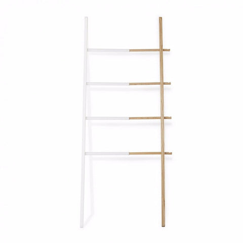 Hub Extendable Ladder White/Natural | Furniture
