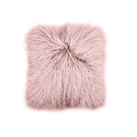 Mongolian Lambswool Blush | Cushion