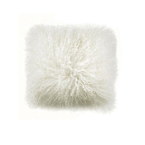 Mongolian Lambswool Cream | Cushion