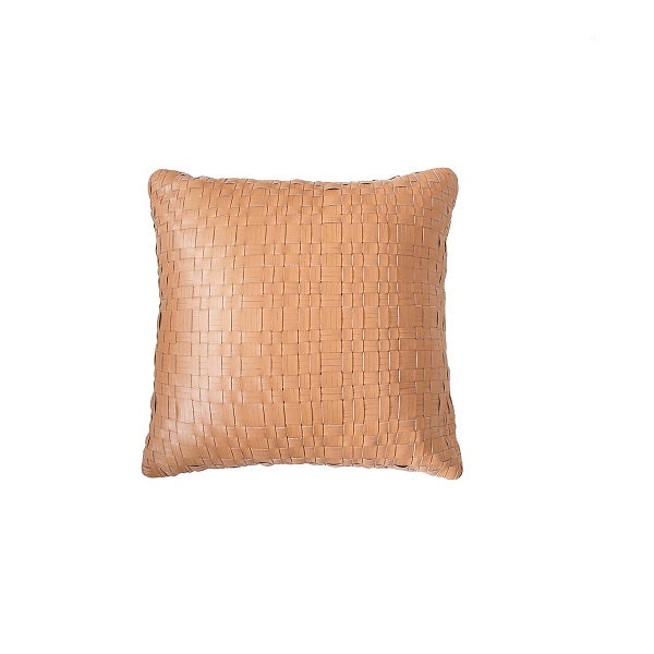 Nevada Leather Cushion Tan