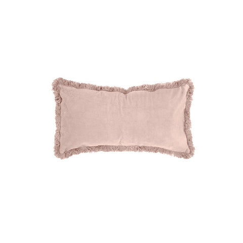 Velvet Breakfast Cushion Rosewater
