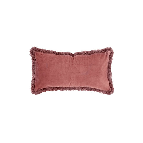 Velvet Breakfast Cushion Clay