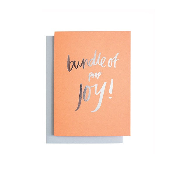 Bundle Of Poop / Joy Greeting Card