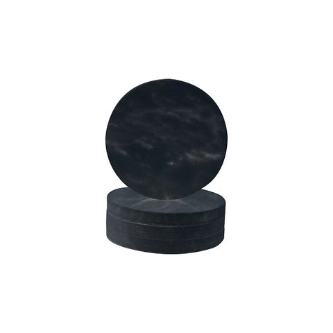 Behr & Co Circle Coasters Nero Marble