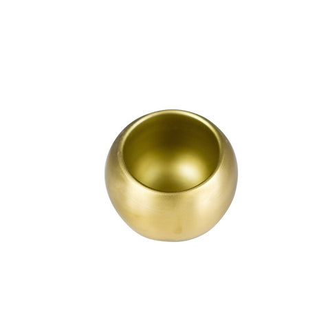 Behr & Co | Century Salt Sphere Brass | Decor