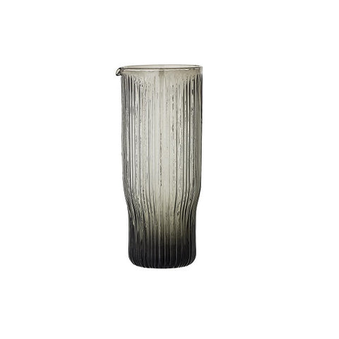 Bloomingville | Jardin Decanter Glass Grey