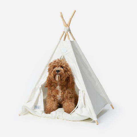 Camp Cloon | Pup Tent Tipi & Bed | Pet