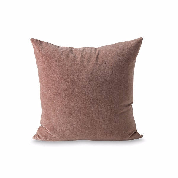 Citta Design | Cotton Velvet Cushion - Amethyst Tint