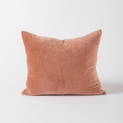 Citta Design | Cotton Velvet Cushion - Nude