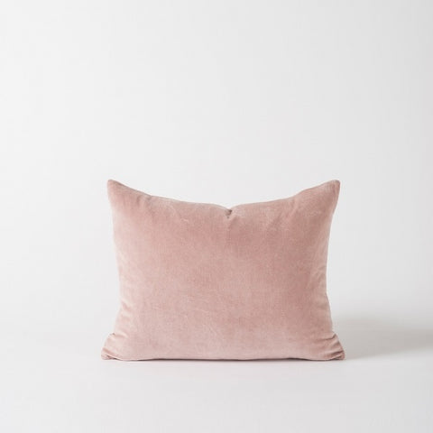 Citta Design | Cotton Velvet Cushion - Peony