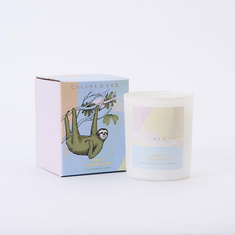 Celia Loves | Sweet Lemongrass Candle Large