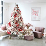 Floral | Large Pink Flower | Christmas