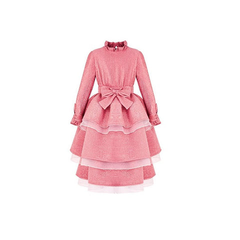 Claris x Poca & Poca - Blushing Coral Dress