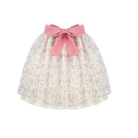 Claris x Poca & Poca - Claris in Paris Volume Skirt
