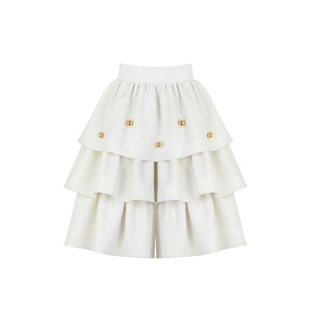 Claris x Poca & Poca - Milky Waterfall Shorts