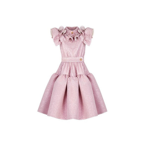 Claris x Poca & Poca -Tiny Heather Dress