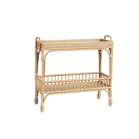 Palm Springs Bar Cart Natural | Furniture