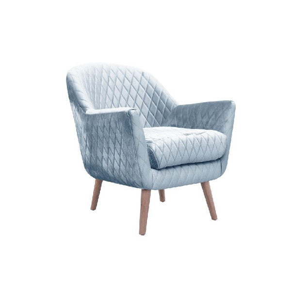Coco Club Chair Blue Grey | Furniture