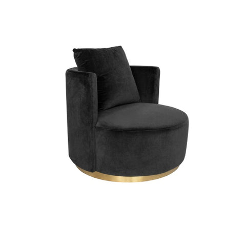 Darcy & Duke | Coco Love Armchair Black
