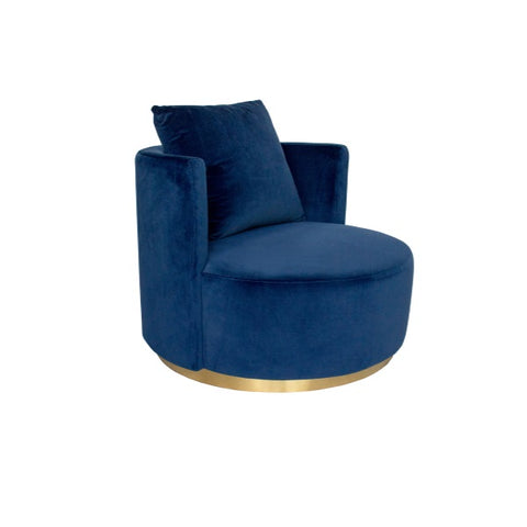 Darcy & Duke | Coco Love Armchair Navy