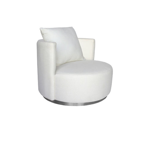 Darcy & Duke | Coco Love Armchair Ivory White