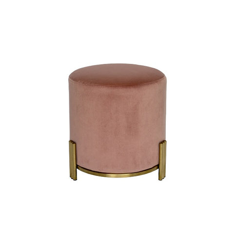 Darcy & Duke | Luca Ottoman Blush Gold Base