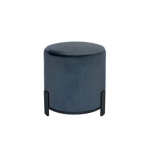 Darcy & Duke | Luca Ottoman Charcoal Black Base