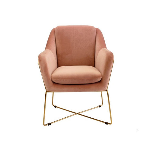 Milan Chair Blush | Furniture