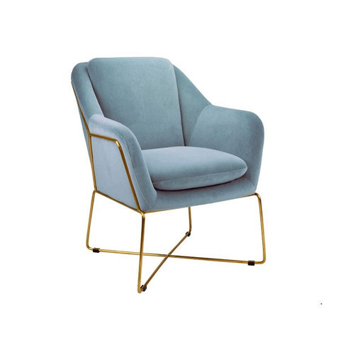Milan Chair Dusk Blue | Furniture