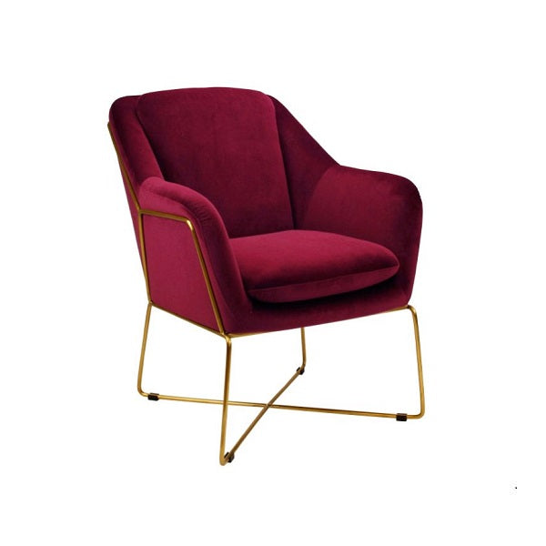 Milan Chair Marsala | Furniture