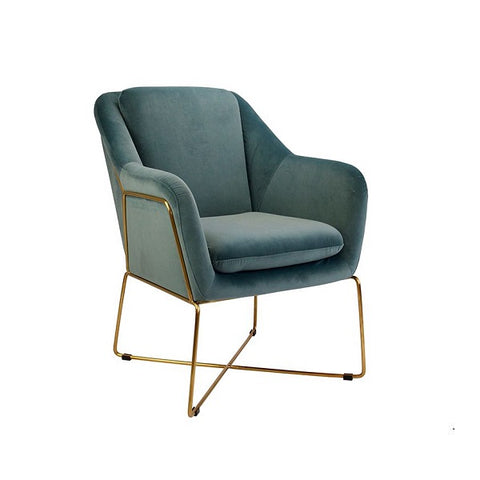 Milan Chair Steel Blue | Furniture