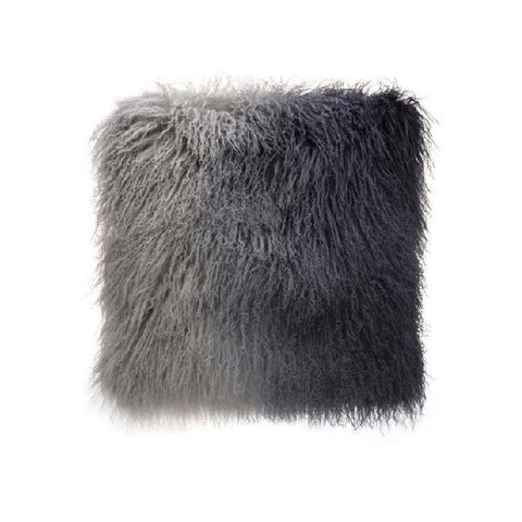 Tibetan Fur - Grey Ombre | Cushion