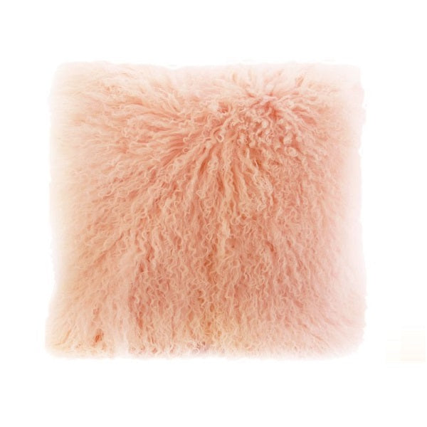 Tibetan Fur - Rosewater Cushion
