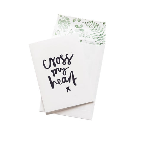 Emma Kate Co | Cross My Heart | Card