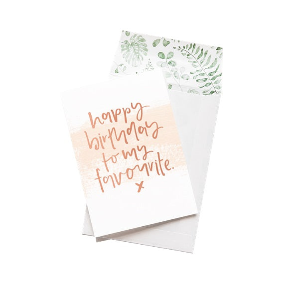 Emma Kate Co | Happy Birthday Favourite | Card