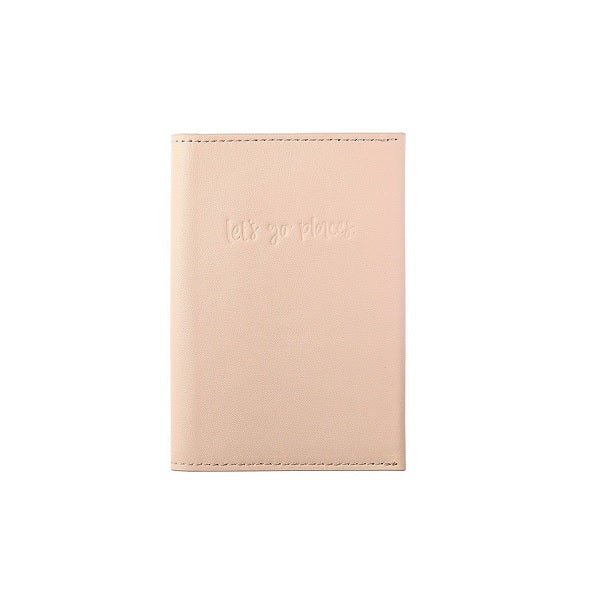 Emma Kate Co | Leather Passport Compendium Blush