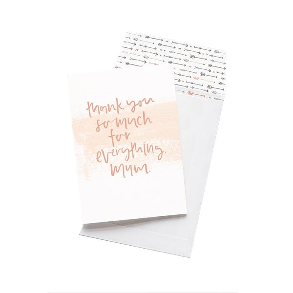 Emma Kate Co | Thank You For Everything, Mum | Card