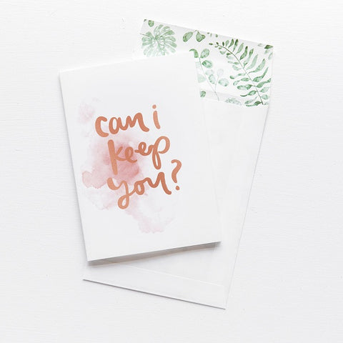 Emma Kate Co | Can I Keep You | Card