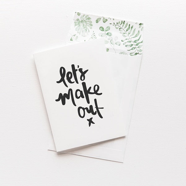 Emma Kate Co | Let's Make Out | Card