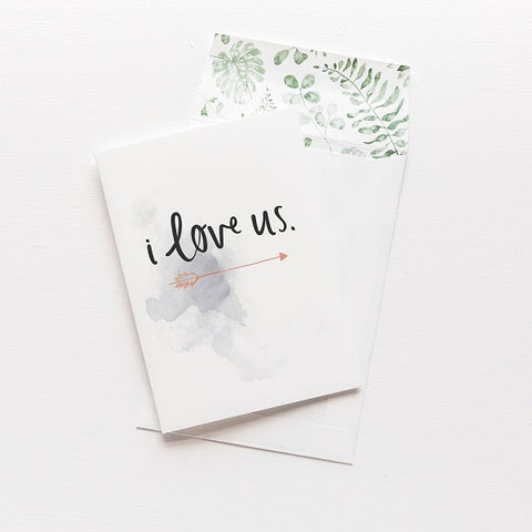 Emma Kate Co | I Love Us | Card