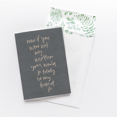 Emma Kate Co | Even if you were not my mother | Card