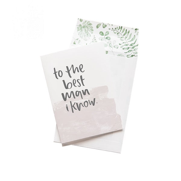 Emma Kate Co | To The Best Man I know | Card