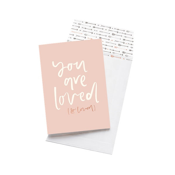 Emma Kate Co | You Are Loved | Card