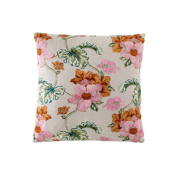 Eadie Lifestyle | Bouquet Natural Cushion Square