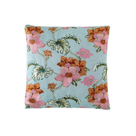 Eadie Lifestyle | Bouquet Sea Mist Cushion Square