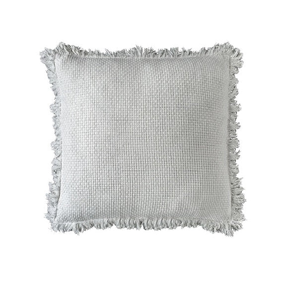Eadie Lifestyle | Chelsea Fringe White Cushion Square
