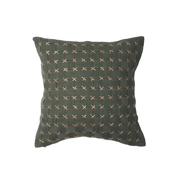Eadie Lifestyle | Flette Khaki Cushion Square