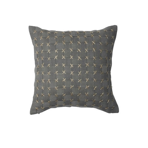 Eadie Lifestyle | Flette Slate Cushion Square