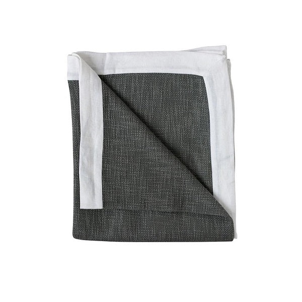 Eadie Lifestyle | Landscap Throw Slate/White | Throw